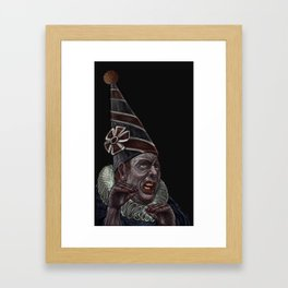 The endless chatering Framed Art Print