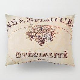 Vins & Spiritueux Pillow Sham