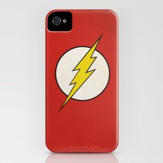 Flash Minimalist  iPhone (4, 4s) Slim Case