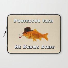 Professor Fish Laptop Sleeve