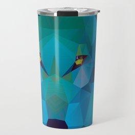 Wolf Crystallize 02 Travel Mug