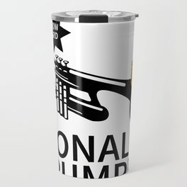 Donald Trump Trumpet Travel Mug