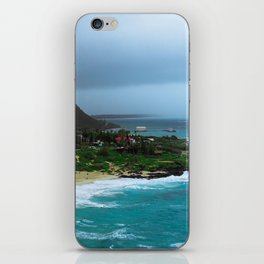 A Postcard Home from Paradise iPhone Skin