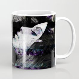 Abstract Art Composition Female face Coffee Mug