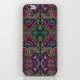 Aztec color Pattern iPhone Skin