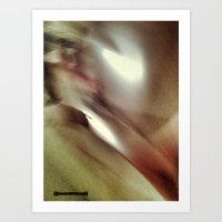 Blur Art Print