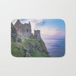 Twilight at Dunluce Castle Bath Mat