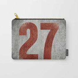 Vintage Auto Racing Number 27 Carry-All Pouch