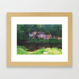 Skanaiskalns Nature Park Framed Art Print