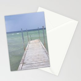 Bridge to the sea | Landscape photography Stationery Cards