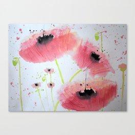 Poppy Ballet Canvas Print