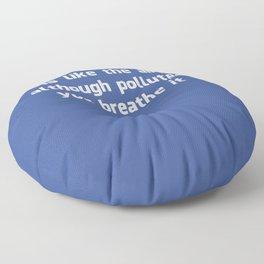 Poster Facebook Floor Pillow