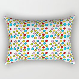 Circle and abstraction 3-abstraction,abstract,geometric,geometrical,pattern,circle,sphere Rectangular Pillow