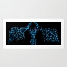 kylmäverinen enkeli Art Print