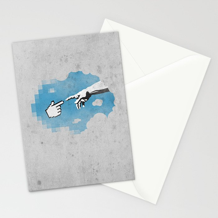 On the 101110010th Day... Stationery Cards