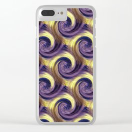 Twistin' & Turnin'..... Clear iPhone Case