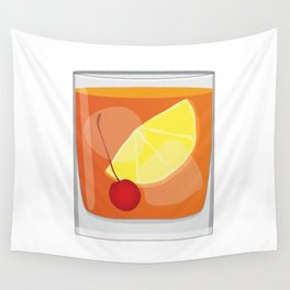 Old Fashioned Cocktail Wall Tapestry