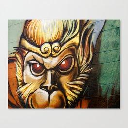 Chinatown Graffiti Canvas Print