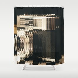 Wake Up With A Camera Shower Curtain
