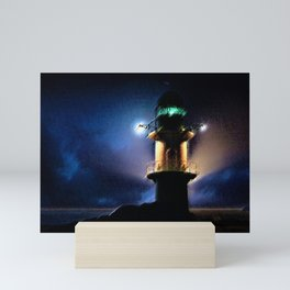 Reykjavik Lighthouse by Jeanpaul Ferro Mini Art Print