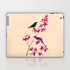 Birds and orchids Laptop & iPad Skin