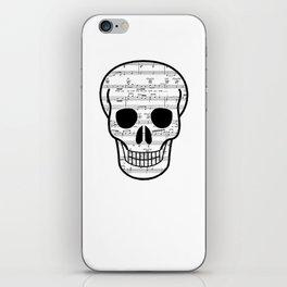 Music Skull iPhone Skin
