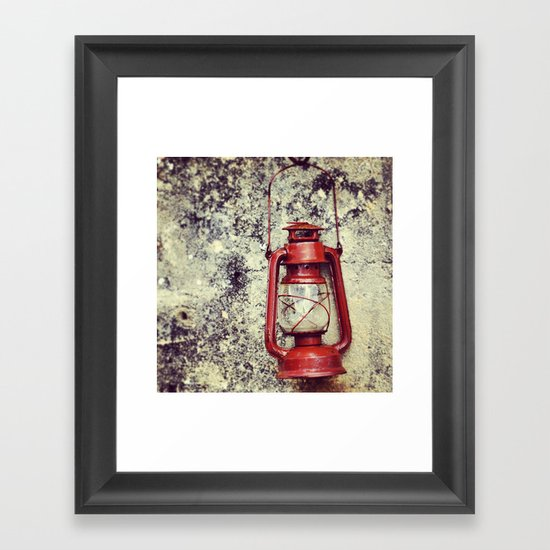 Lamp Framed Art Print
