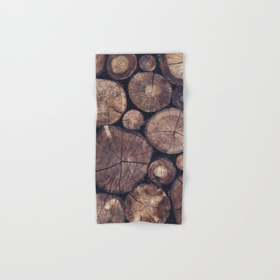 The Wood Holds Many Spirits // You Can Ask Them Now Edit Hand & Bath Towel