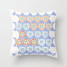 Moroccan Spring Throw Pillow