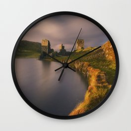 Fortified Towers Wall Clock