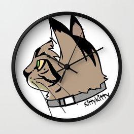 KittyKitty Wall Clock