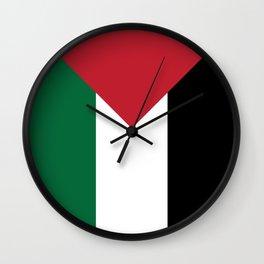 OG x Palestinian Flag Wall Clock
