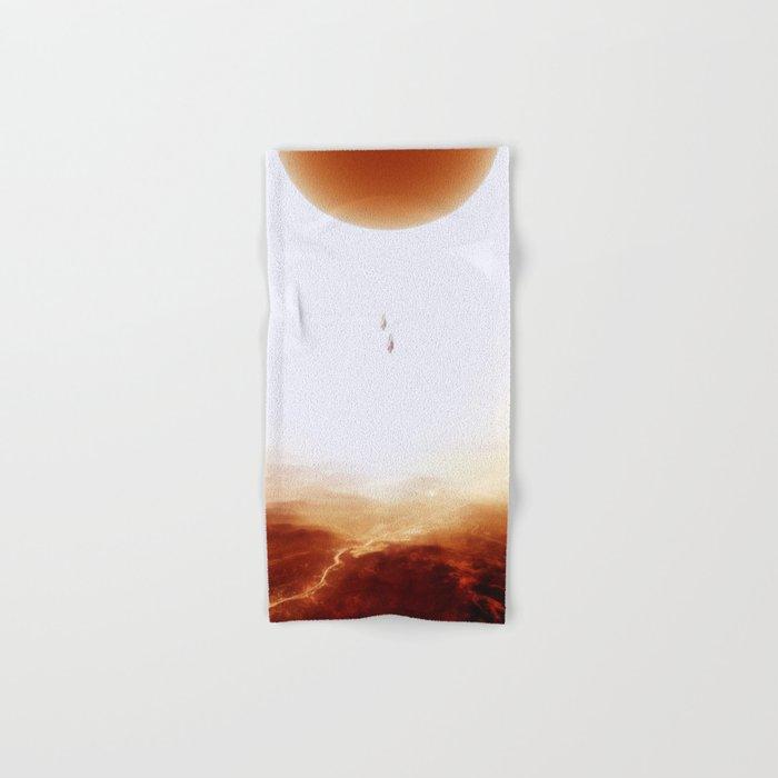 Mars Diving Hand & Bath Towel
