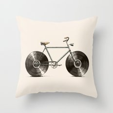 Velophone Throw Pillow