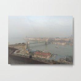 Mists of the Danube Metal Print
