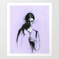 Cloaked Art Print
