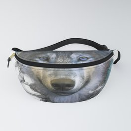 Wolf - Spirit Animal Fanny Pack