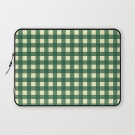 FORREST GREEN CHECK Laptop Sleeve