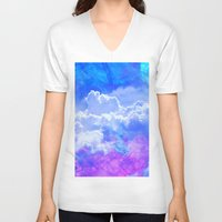 heaven V-neck T-shirts featuring Heaven by Cale potts Art