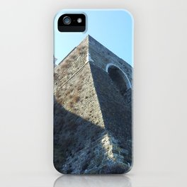 Church on the cliff iPhone Case