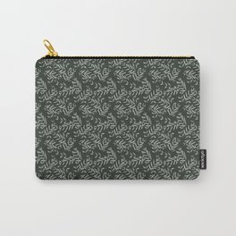 Vintage Greenery Carry-All Pouch