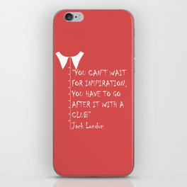 QUOTE-2 iPhone Skin