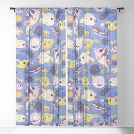 Blowfish Sheer Curtain