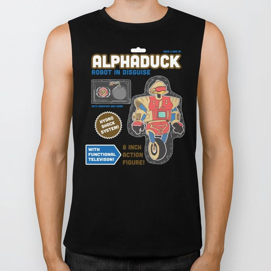 Alphaduck: Robot in Disguise  Biker Tank
