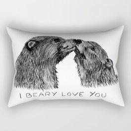 I beary love you Rectangular Pillow