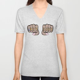 Knucks: Cry Baby Unisex V-Neck