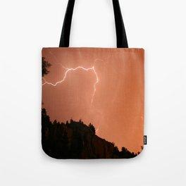 Pink Flash Tote Bag