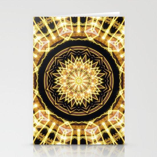 GlaMANDALA   Mandala Glamour Stationery Cards