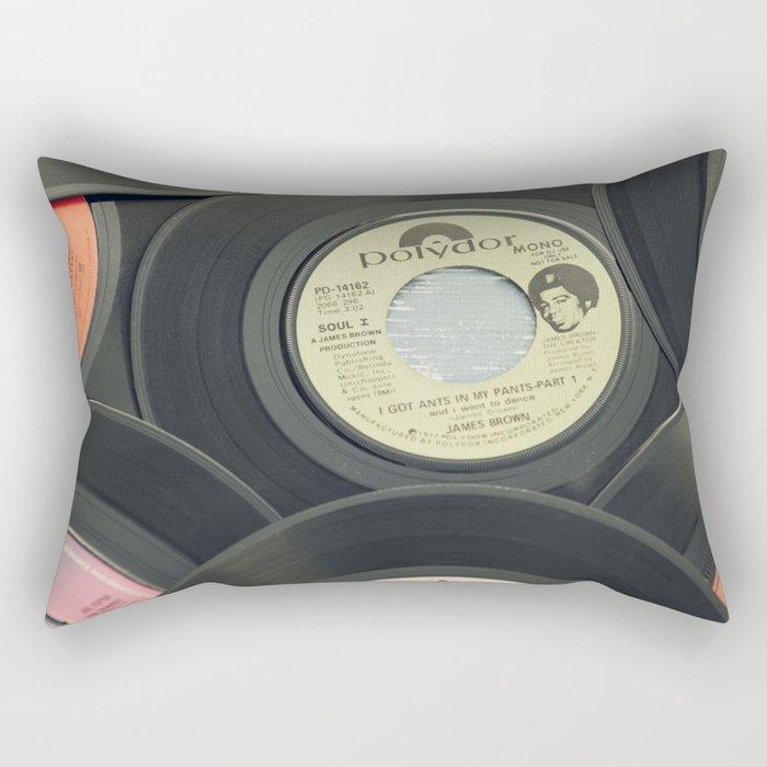 Sounds of the 70s II Rectangular Pillow