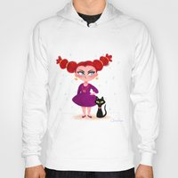 sassy Hoodies featuring Sassy Witch by Anoosha Syed